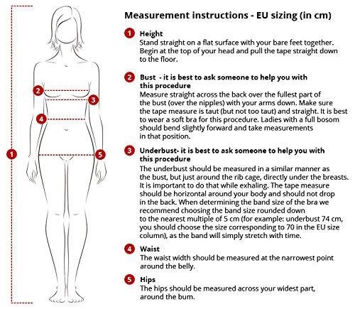 Babella 3091-2 Pantalón Corto De Pijama Para Mujeres Estampado De Cuadros Cintura Regular - Hecho En La UE azul-blanco
