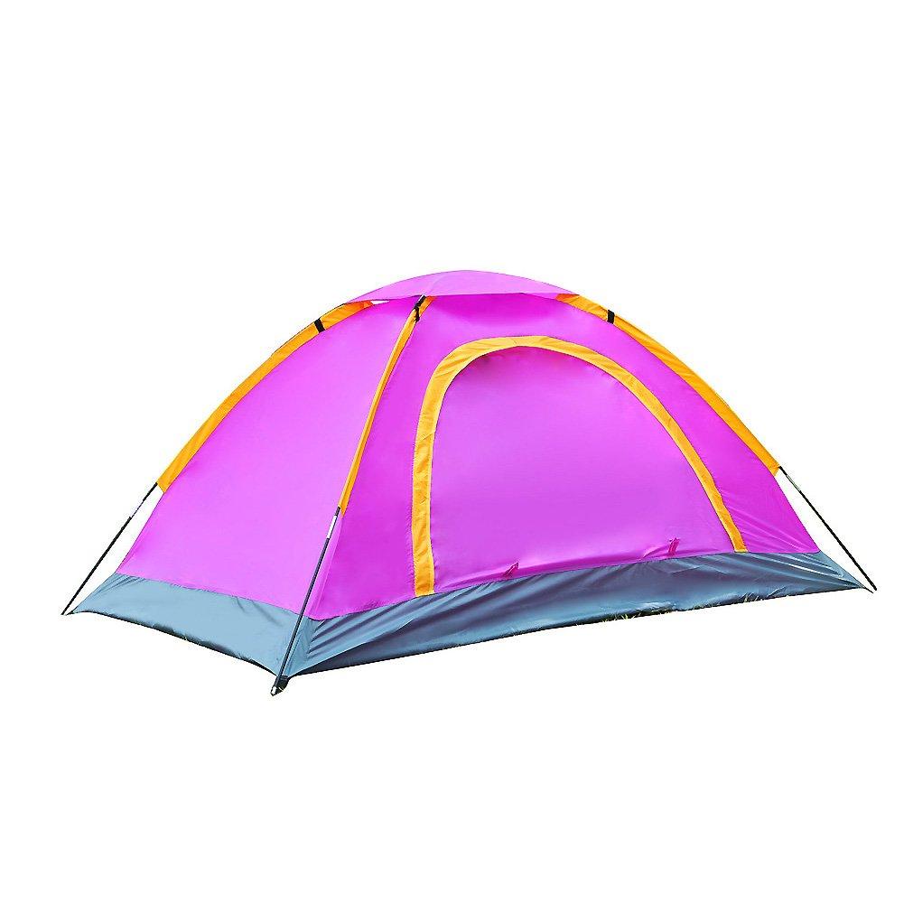 Camping Zelte,Zelt Für 2 Personen Outdoor-doppeltür Mit Tragebag Mit Großen Öffnungen Campingausrüstung Portable Beach Familienzelt