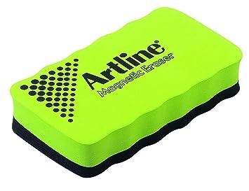 Artline - Borrador para pizarra magnética color verde ...