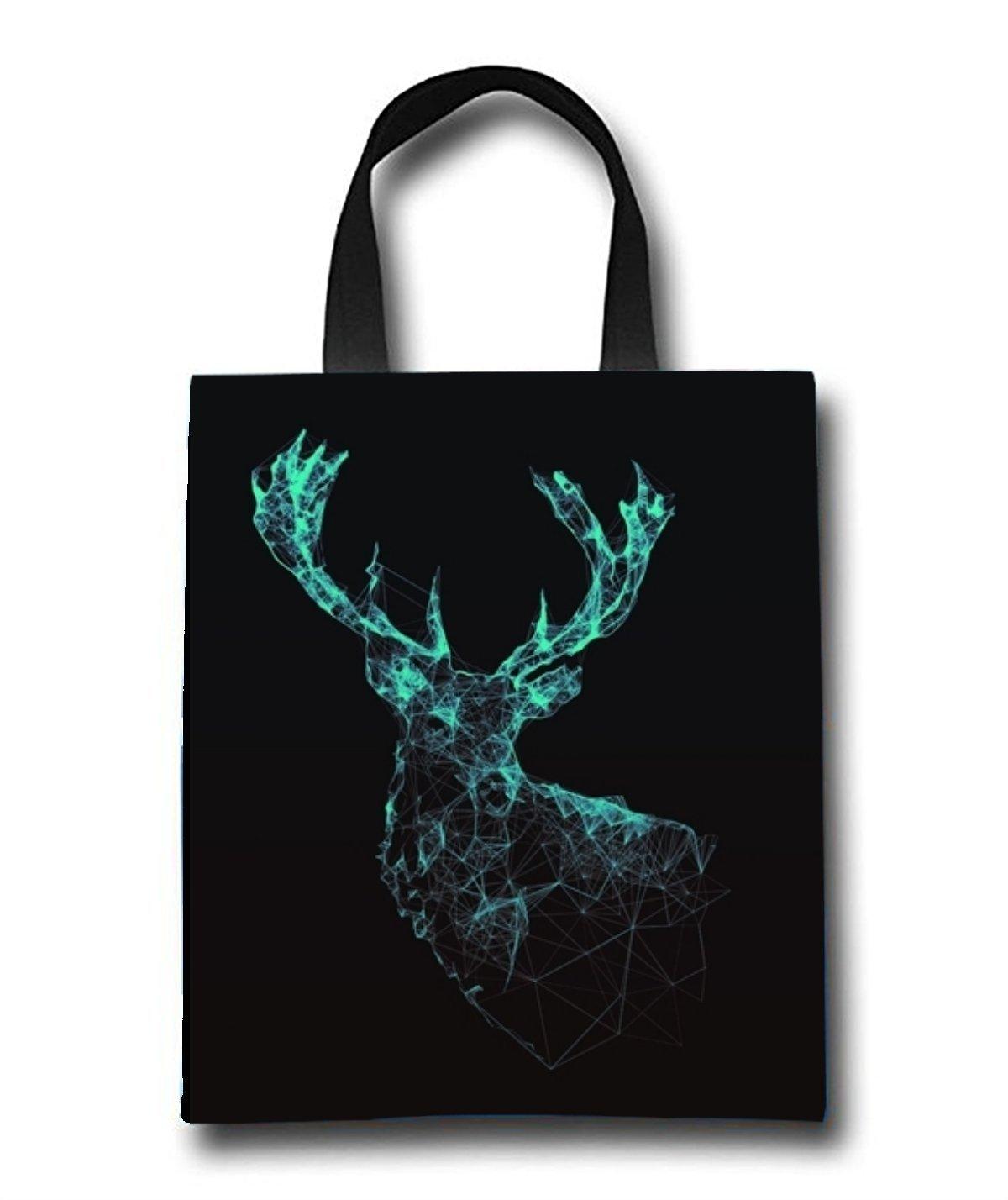 Deer Art Beach Tote Bag - Toy Tote Bag - Large Lightweight Market, Grocery & Picnic
