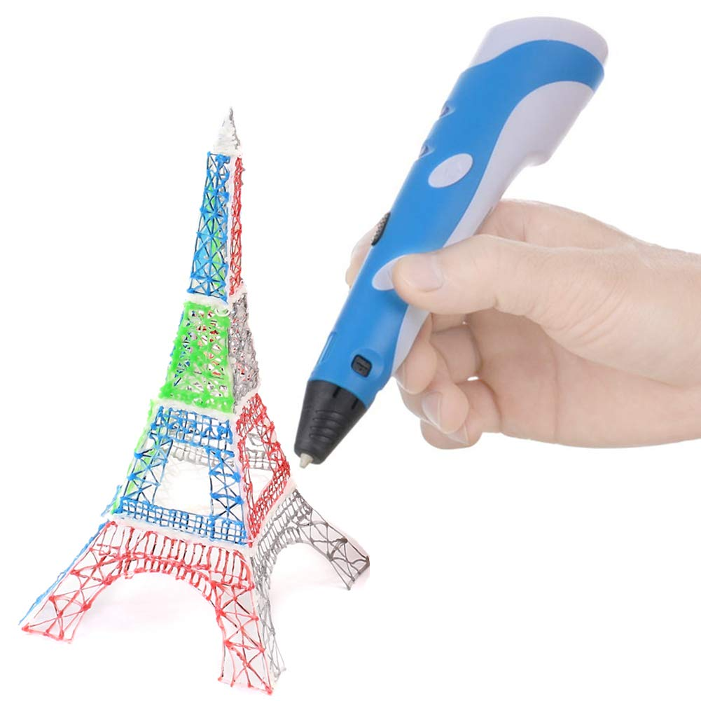 3D Molding Soyan 3D Pen for Arts and Crafts Sculpting and Doodling Gray Perfect Gift for Kids