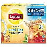 #5: Lipton Gallon-Sized Black Iced Tea Bags, Unsweetened 48 ct Gallon Size