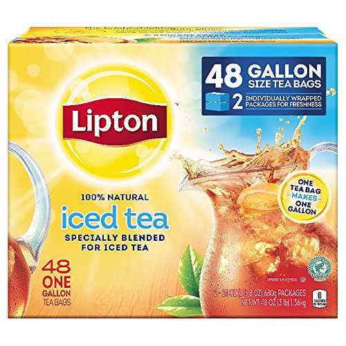 Lipton Gallon Sized Black Unsweetened Gallon product image