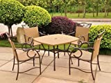 International Caravan Valencia Outdoor Wicker Patio Set Review