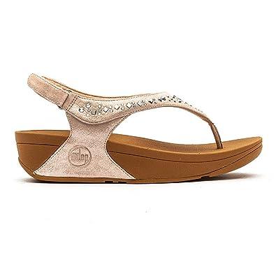 d05166150857e Fitflop Novy Sandal Nude Womens - 8 UK   42 EU  Amazon.co.uk  Shoes   Bags