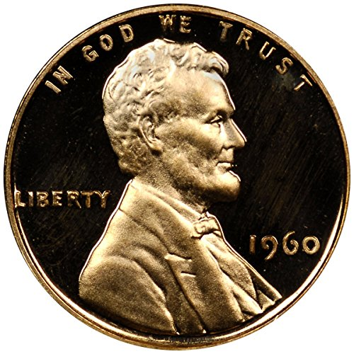 1960 Lincoln Cent 1¢ GEM Proof Small Date ()