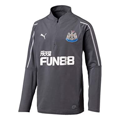 31adca854f0f Puma Boys Newcastle United Zip Training Top 2018 2019  Amazon.co.uk   Clothing