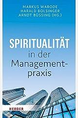 Spiritualitat in Der Managementpraxis (German Edition) Hardcover
