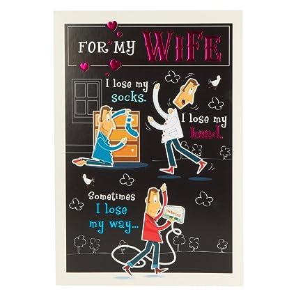 Amazon Wife Birthday Humour Birthday Card Office Products