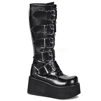 57927c5b828339 Demonia Knee Boots Trashville-518  Amazon.de  Schuhe   Handtaschen