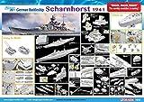 Dragon Models 1/350 German Battleship Scharnhorst 1941 Smart Kit Model Kit