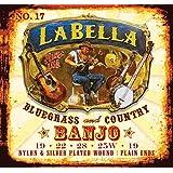 LaBella 17 La Bella Nylon 5 Stg Banjo Set