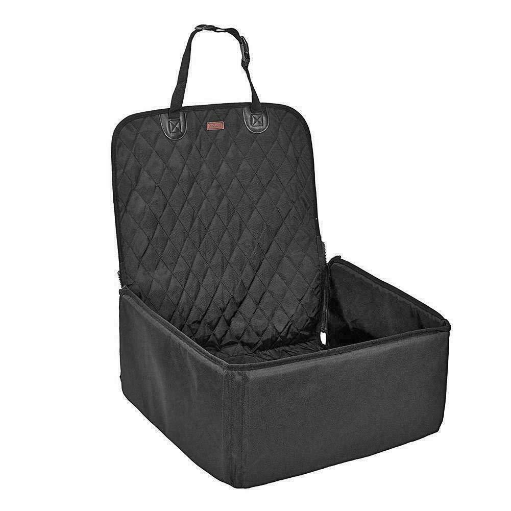 Black Diamond66 Pet Dog Carrier Car Seat Safe Carry House Waterproof Cat Basket (Champagne)
