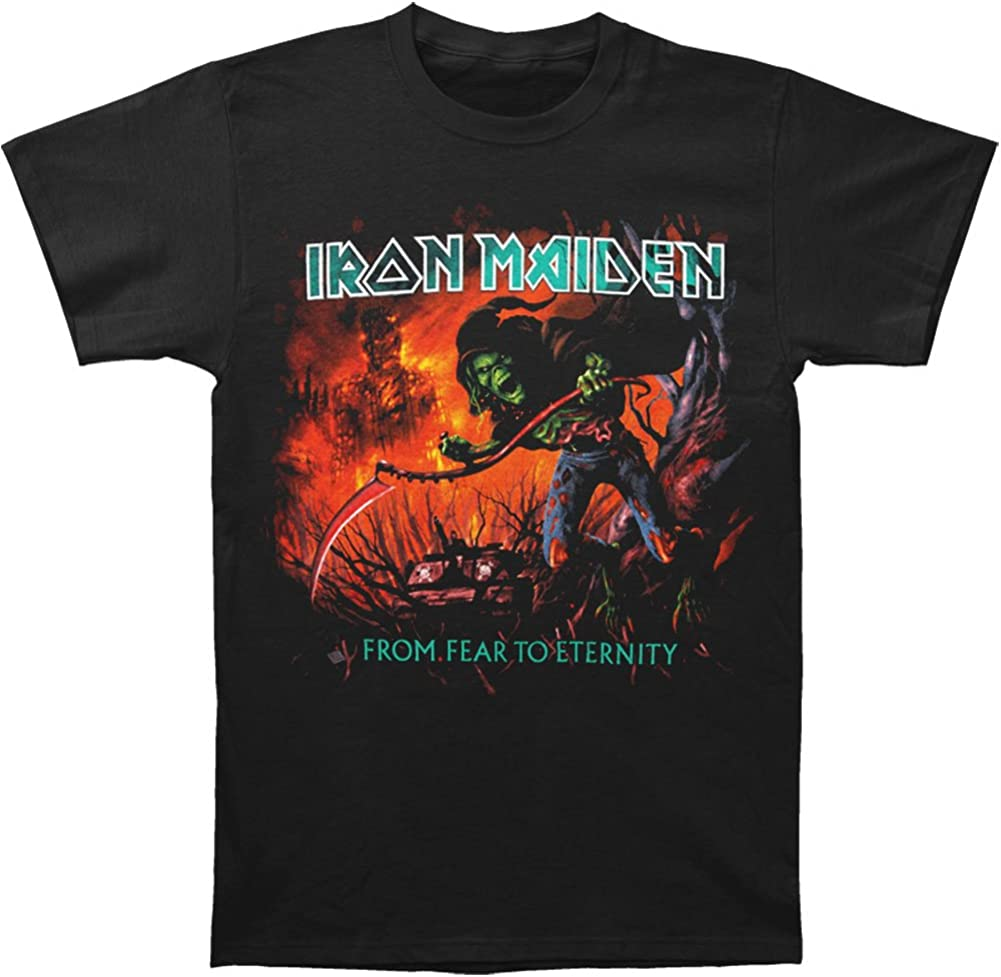 Iron Maiden From R To Eternity Album S Black T Shirt