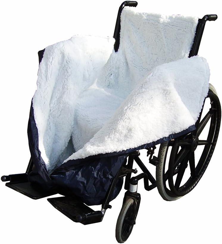NRS Healthcare forro polar Impermeable Cosy silla de ruedas