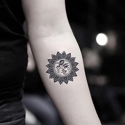 Tatuaje Temporal de Luna (2 Piezas) - www.ohmytat.com: Amazon.es ...