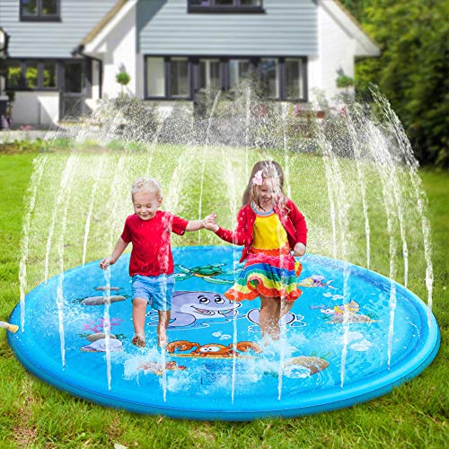 Flow.month Sprinkler Pad and Splash Play Mat 68