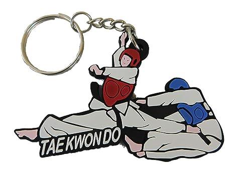 by soljo Taekwondo Sport - 100% de Goma Llavero Cadena ...