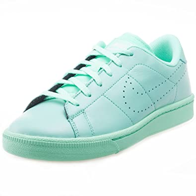 Nike Tennis Classic PRM (GS), Chaussures de Gymnastique Garçon, Blanc (White/White-Black), 36.5 EU