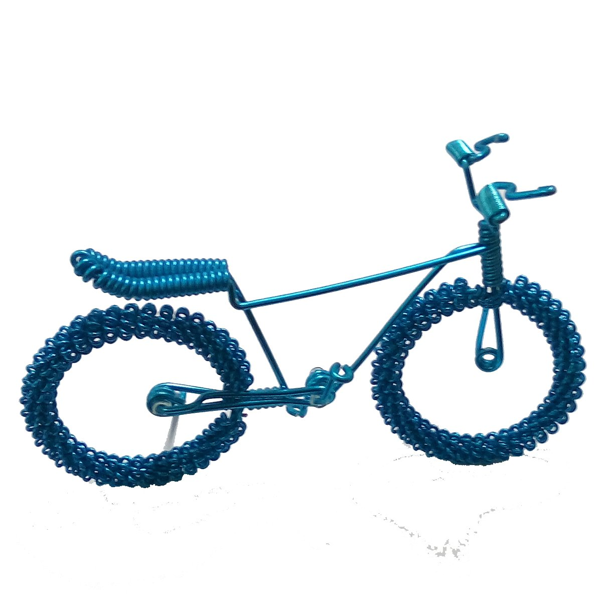 Handcrafted Men Mountain Bike Model Unique Biking Birthday Gifts For Cyclists Metal Vintage Bicycle Art