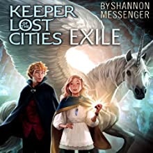 Exile Audiobook by Shannon Messenger Narrated by Eva Wilhelm