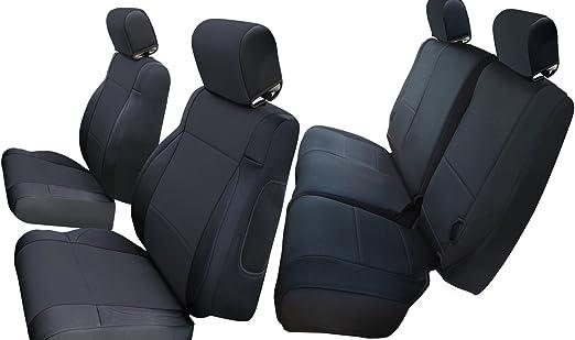 Red 2pcs X AUTOHAUX Automotive Car Rear Seat Grab Handle for 2007-2018 Jeep Wrangler