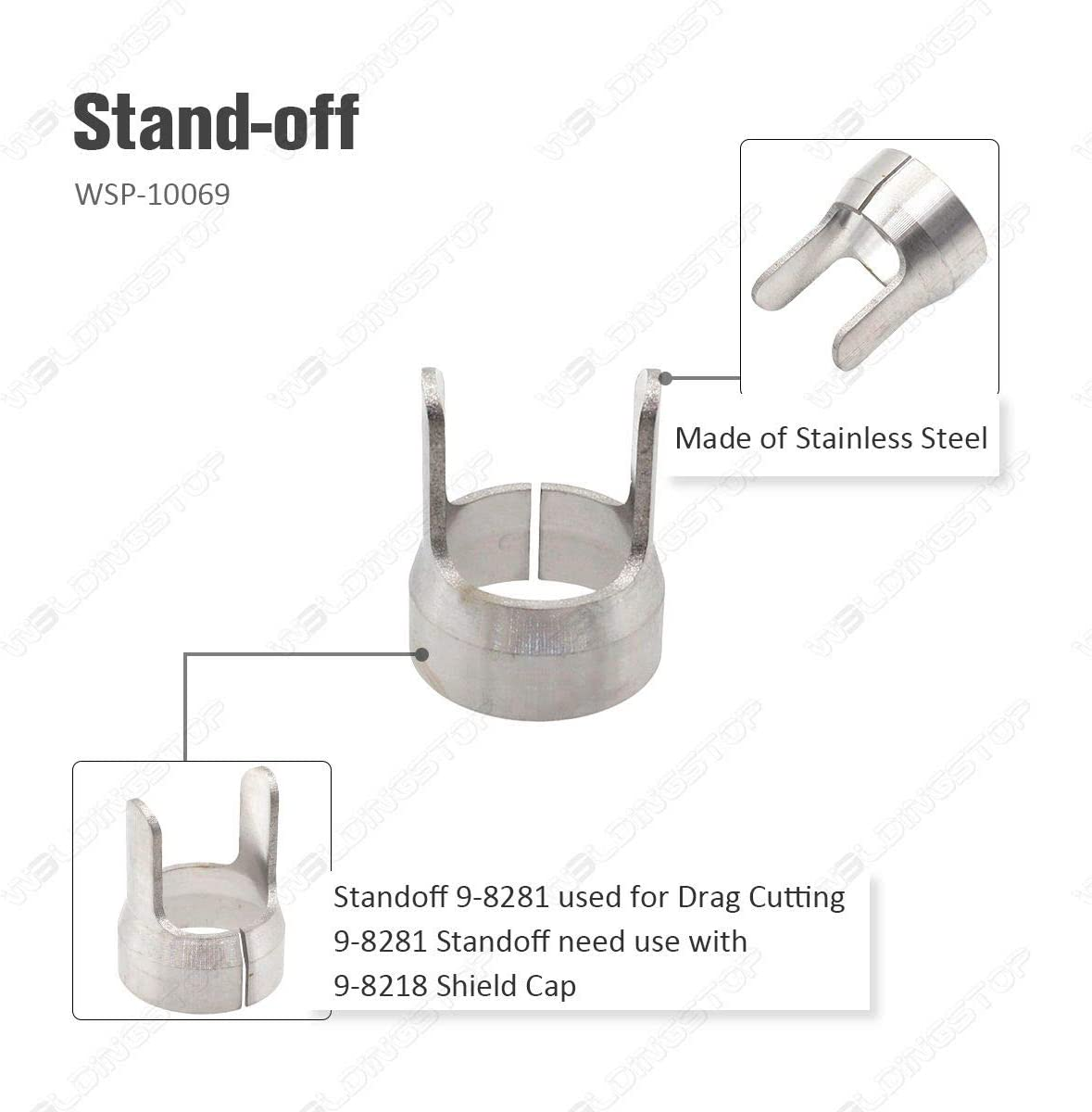 9-8281 Standoff Guide suit Thermal Dynamics SL60 SL100 Plasma Cutting Torch 1pc