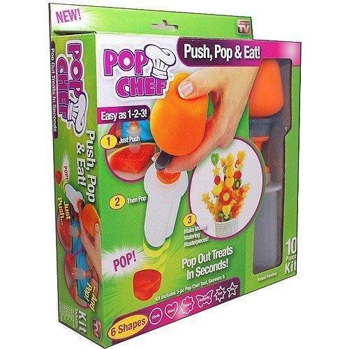 TUZECH Food Designer Just Design Push And Eat - 10 Piece Kit by Tuzech
