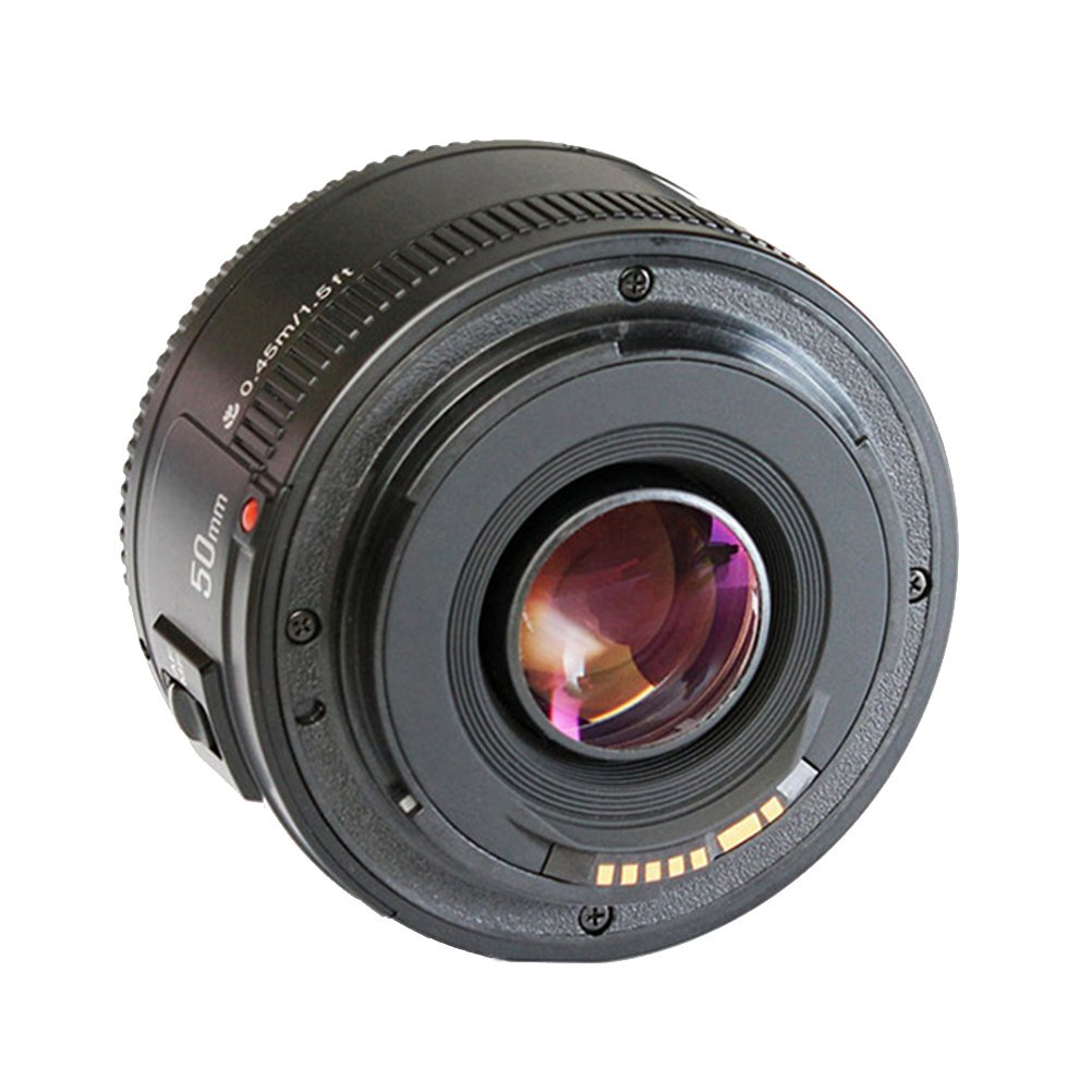 Amazon.com: LEDMOMO 50mm F1.8 Auto Manual Focus Lens Large Aperture Auto  Focus Lens for Canon EOS DSLR Cameras: Electronics