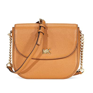 4363f979fc39 Michael Kors Mott Crossbody Bag- Acorn  Handbags  Amazon.com