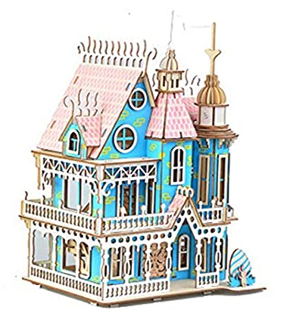 Amazon Com Big Dream Villa 3d Wooden Puzzle Model