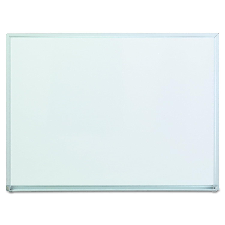 Universal 43622 Dry-Erase Board, Melamine, 24 x 18, Satin-Finished Aluminum Frame
