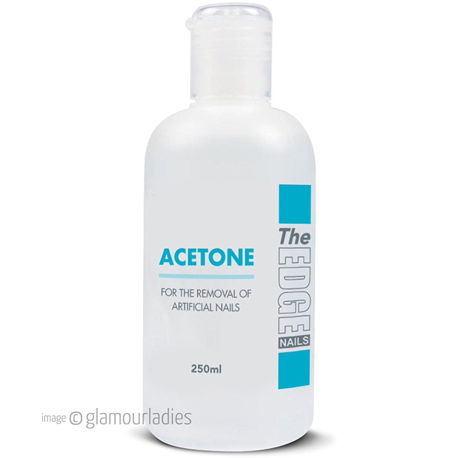 The Edge Acetone Nail Tip Remover 250 ml HealthCenter 2008002
