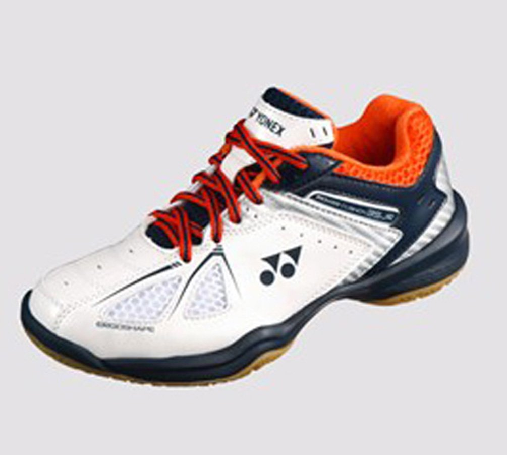 Yonex SHB 35 Junior 2018 New White Orange Badminton Tennis Indoor Court Sports Shoes