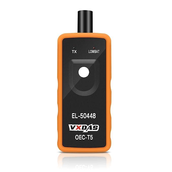 VXDAS EL-50448 - Sensor de presión de neumáticos para vehículos de la Serie Universal de GM/Ford/BMW/Toyota: Amazon.es: Coche y moto