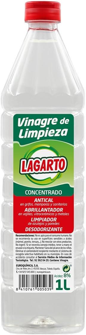 Lagarto Limpiahogar Concentrado - Vinagre de Limpieza - Paquete de ...