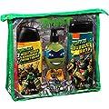 Nickelodeon Teenage Mutant Ninja Turtles Mutant Mango Scented Bath Basics Set, 4 pc