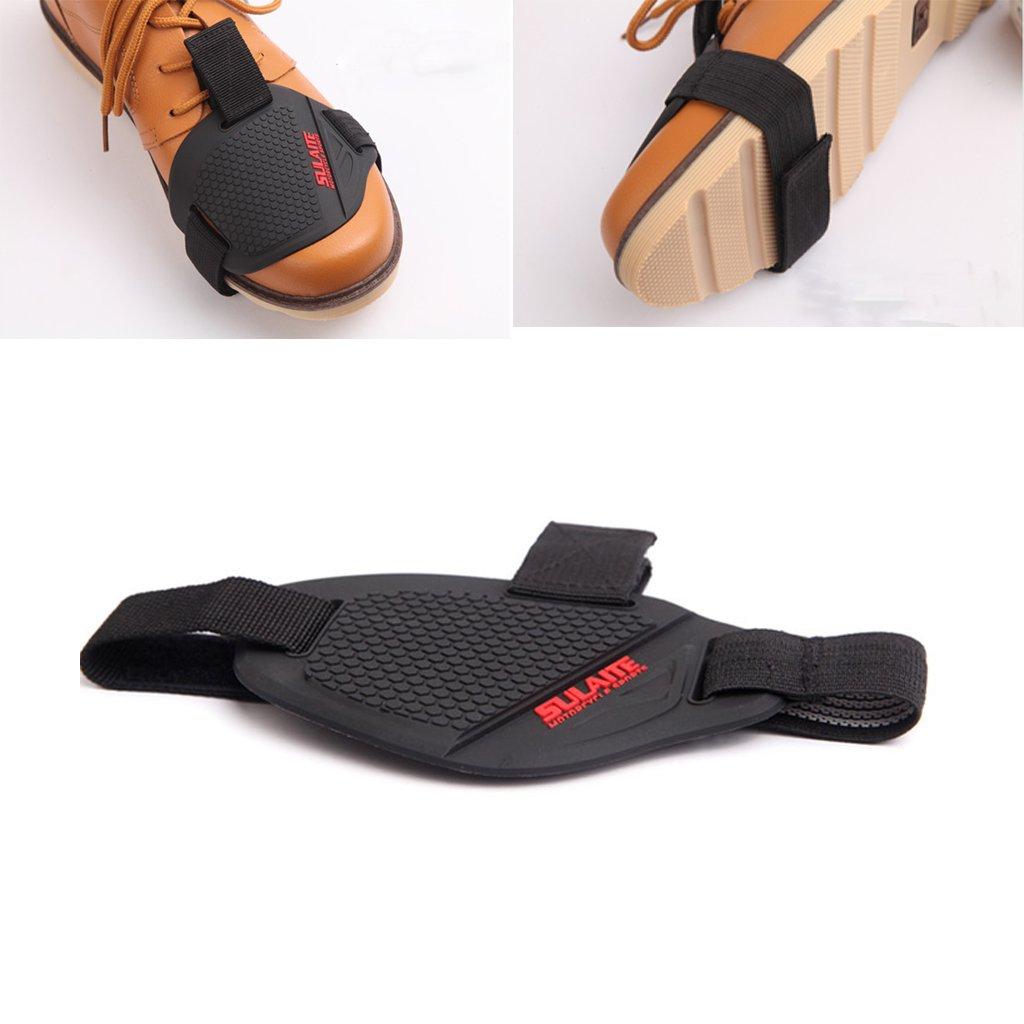 Baoblaze Motorrad-Schalthebel-Schutz-Schuh-Abdeckungs-Reiten Rutschfeste Haltbare Schuh-Abdeckung