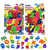 Cuddles Deluxe 26 Piece Kids Magnetic Toy Letters & Numbers - Learning Alphabet Fridge Magnets by Lizzy (26 Pcs Numbers)