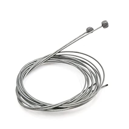 Universal Silver Tone Front Rear Motorcycle Brake Stainless Steel Cable 1.8M