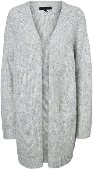 Vero Moda Vmnoma LS O-Neck Cardigan Noos Chaqueta Punto para Mujer