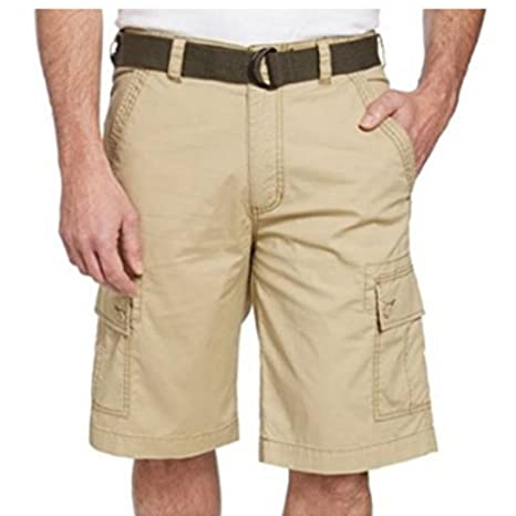 88b814eb3f Amazon.com: Wear First Men's 685 Legacy Belted Cargo Shorts (Vintage ...