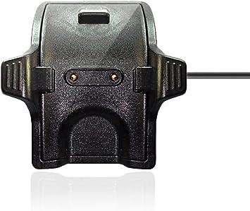 Vicara kompatibel Huawei Band 2 Pro Ladegerät, Ersatz Ladegerät USB Ladekabel für Huawei Band 2 ProHuawei band 3 pro Honor Band 43 (Schwarz)