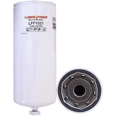 Luber-finer LFF1021-6PK Heavy Duty Fuel Filter, 6 Pack: Automotive