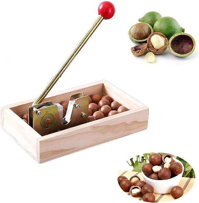 Nut Craker Chrome Nut Cracker Walnut Almond Sheller Opener Kitchen Aid Tool LD