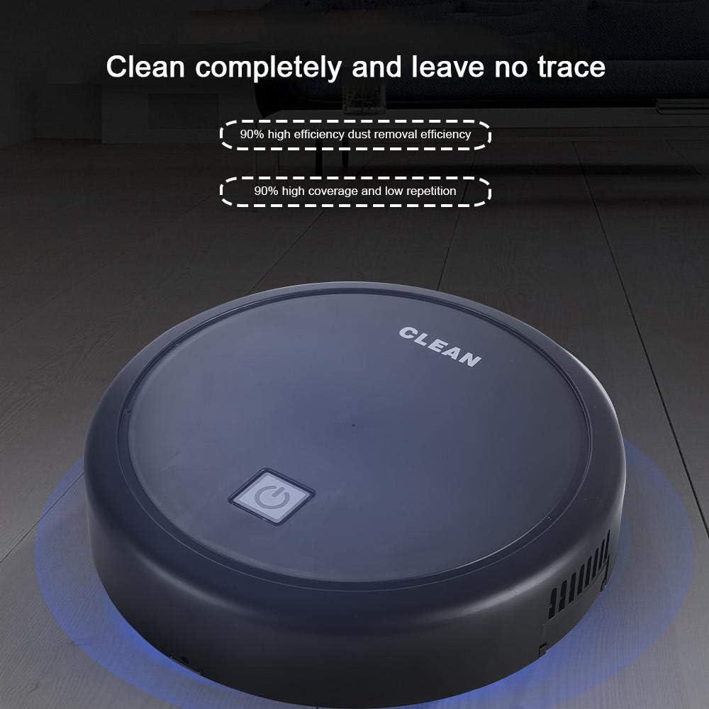 Geggur Intelligent Automatic Sweeping Robot Professional Vacuum Sweeper Laminate Flooring and Carpet Charging bagless Anti-Fall Animal Hair Sucker