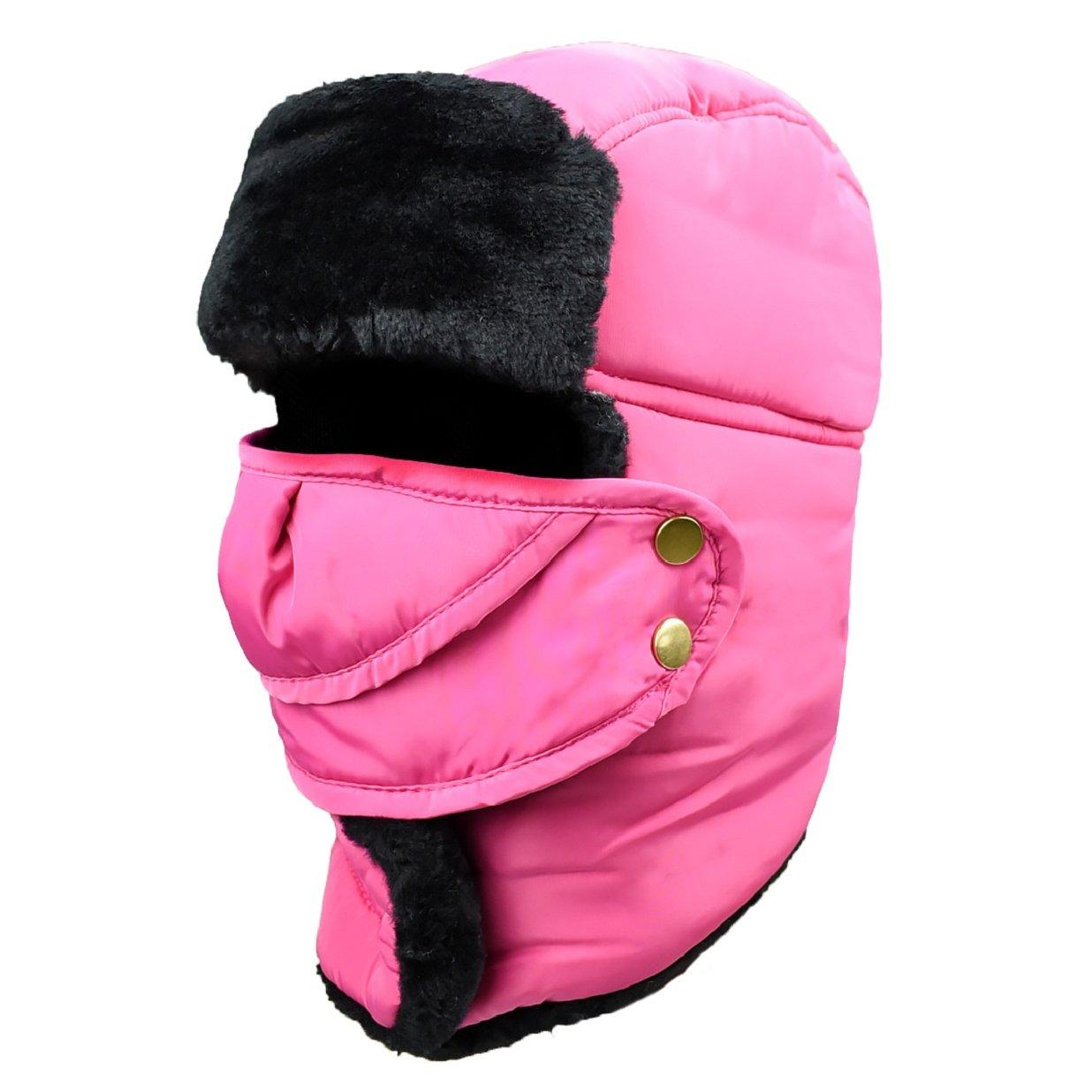 Unisex Sombrero de Invierno Sombrero de Felpa Sombrero a Prueba de Viento  Sombrero Caliente Gorro Antipolvo f88ab1dec79
