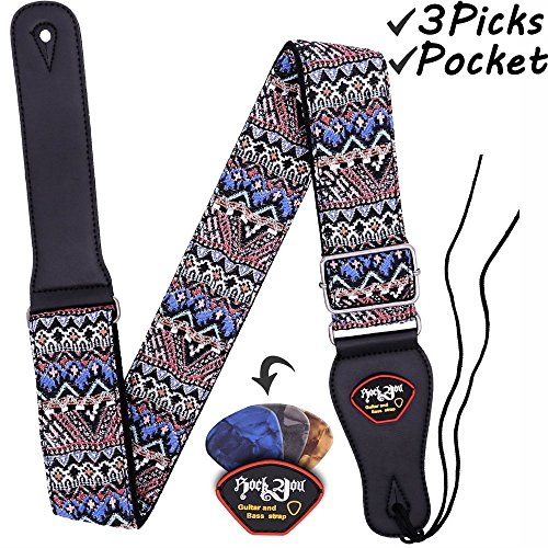 Anwenk Guitar Strap Acoustic Hootenanny