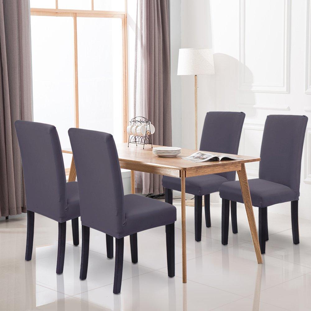 SaintderG® Fundas para sillas pack de 4 fundas sillas ...