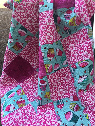 Hawaiian Quilted Baby Quilt by StitchesSayItBest